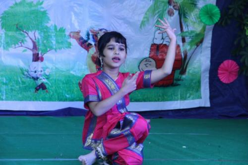 kids dance at pre school indore
