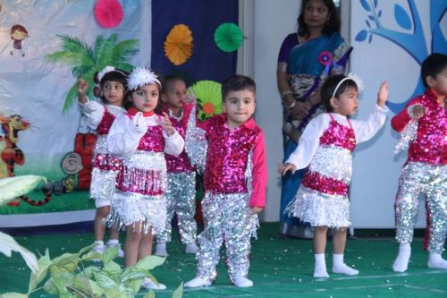 kids performance at play school in indore